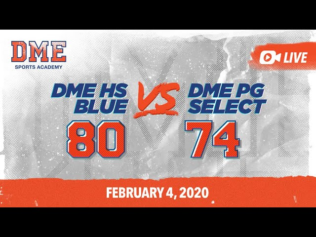 DME HS vs PG Select