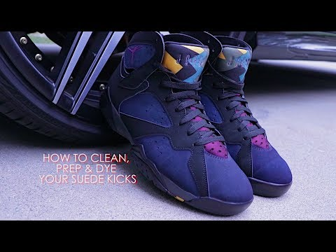 HOW TO: Clean, Prep & Dye Your Suede Shoes Using Angelus Suede Dyes!