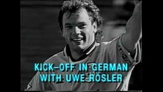 Kick Off in German with Uwe Rösler 1996