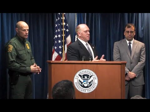CBP Headquarters: 12/5/17. DHS Border Security Conference & Officials Hold Press Briefing.