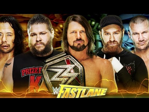 WWE Fastlane 2018 Please DONT SUCK !  ( Predictions ) NEWS