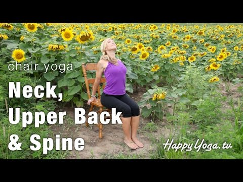 Chair Yoga Trailer | Happy Yoga with Sarah Starr | Chair Yoga Volume 1