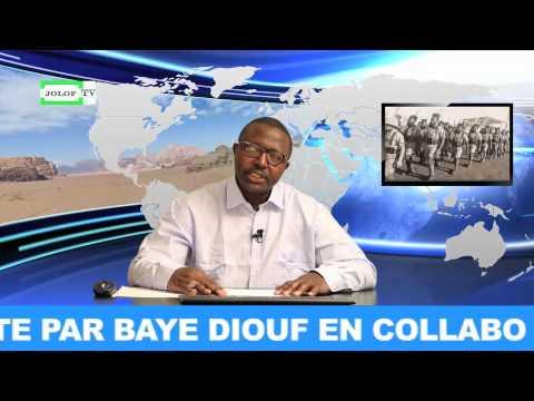 JOLOFTV PRESENTE LA REVUE HEBDOMADAIRE DE LA PRESSE AFRICAINE EN EUROPE ET DANS LE MONDE.