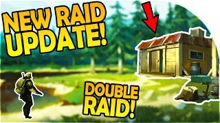 NEW RAID UPDATE, HOW TO EASY RAID - DOUBLE RAID + WEAPON CRATE - Last Day on Earth Survival Gameplay