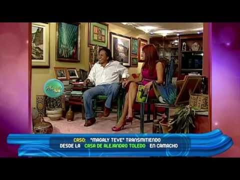 Alejandro Toledo con Magaly Medina parte 1 de 2