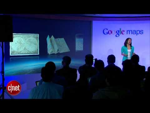 CNET News: Google Maps goes 3D and offline