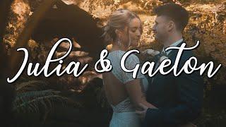 Congratulations Julia & Gaeton !