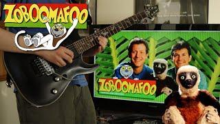 Zoboomafoo Theme Song METAL GUITAR COVER    MaximumGuitar