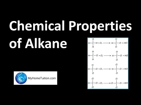 Chemical Properties of Alkane | Carbon Compound