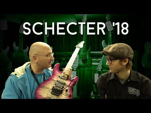 New SCHECTER guitars for 2018