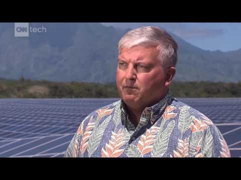 CNN story on KIUC Tesla Project