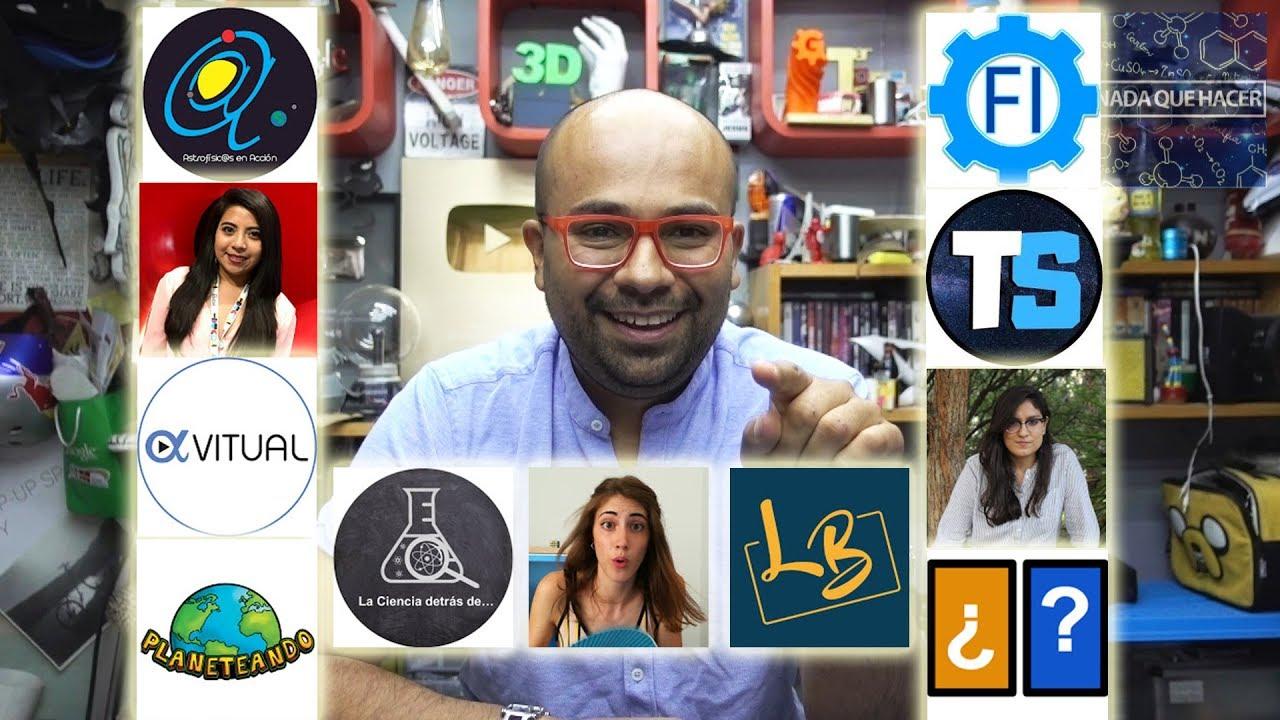 Canales de Youtube que vale la pena promocionar (Que canales me gustan)| NQUEH