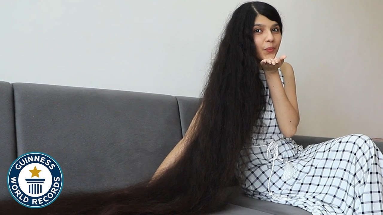 Life With The Longest Hair Guinness World Records Youtube