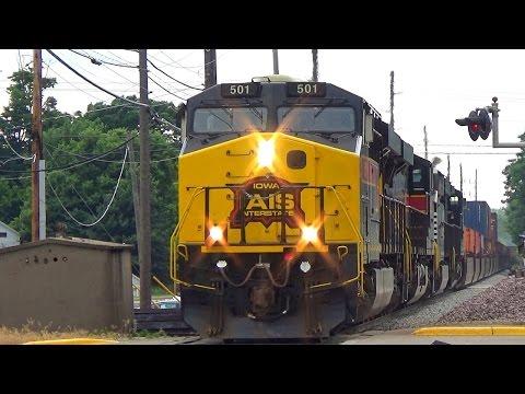 IAIS 501 w/ NS Power Leads CBBI - Geneseo, IL - 6/22/2016