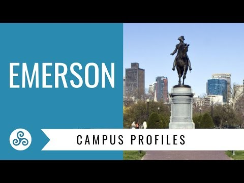 Emerson College Boston - Campus visit with American College Strategies