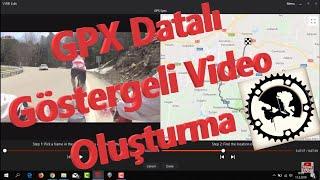 Garmin Edit Kullanımı ve GPX Datalı Video Oluşturma