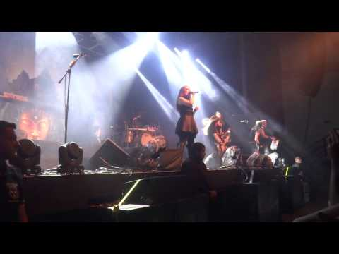 Epica - Victims of Contingency live in Curitiba - Brazil 2015