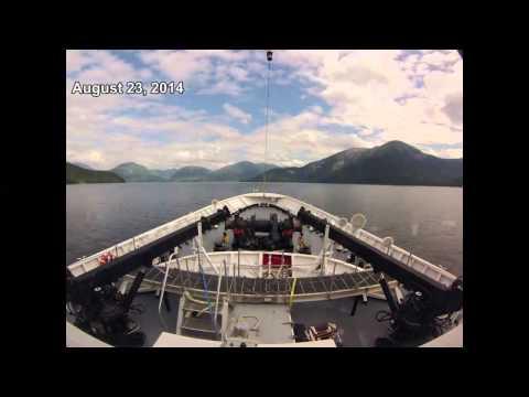 NOAA Ship Fairweather Transits from Kodiak, Alaska to Seattle, Wash.