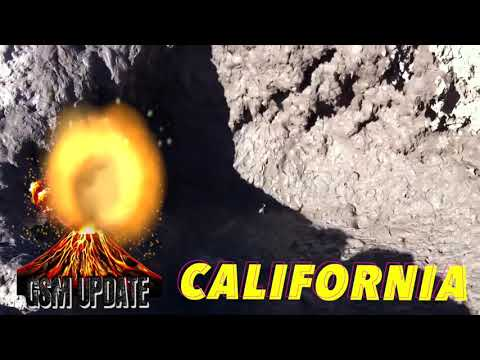 🌋Mud Volcano Threatens California's Infrastructure GSM Volcano Update Grand Solar Minimum Channel