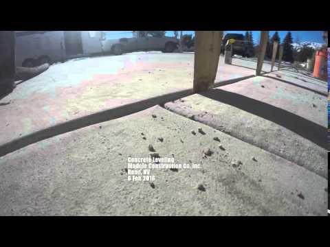 Repairing Concrete Using Foam Injection Reno Nv 89511