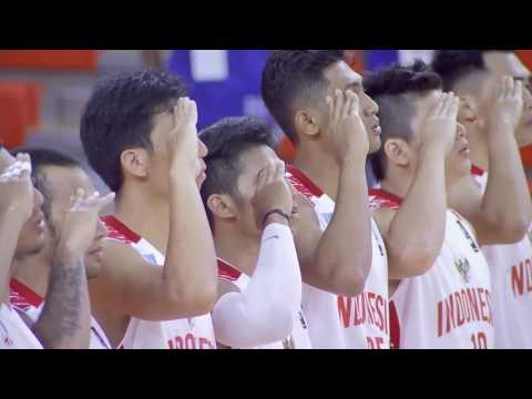 Indonesia vs. Singapore | May 23, 2016 | 5th SEABA Stankovic Cup 2016 THAILAND (TH)
