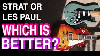 Les Paul vs Stratocaster - Which Guitar Do You lIke More? I Tim Pierce | Guitar Lesson | Tone