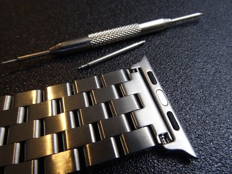 Apple Watch Band, Bracelet, & Strap Adapters with Spring Bars Review