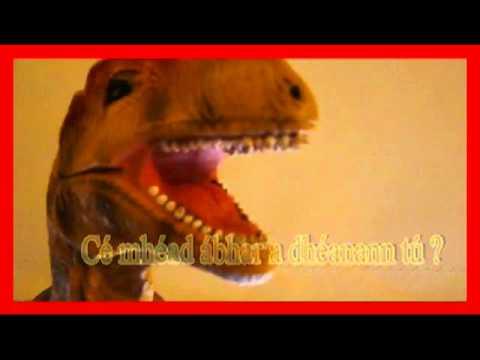 An Bhéaltriail le T-Rex