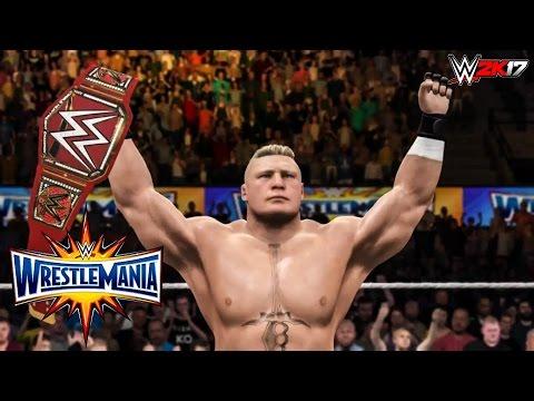 WWE 2K17 - WrestleMania 33 FULL SHOW Highlights