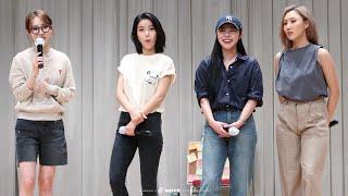 210613 kbs심석홀 팬사인회 토크 타임 마마무 직캠