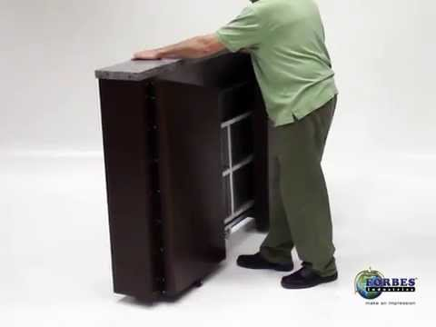 SlimFold Mobile Bar By Forbes Industries