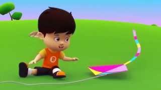 BIBO n Friends   Fun with kite
