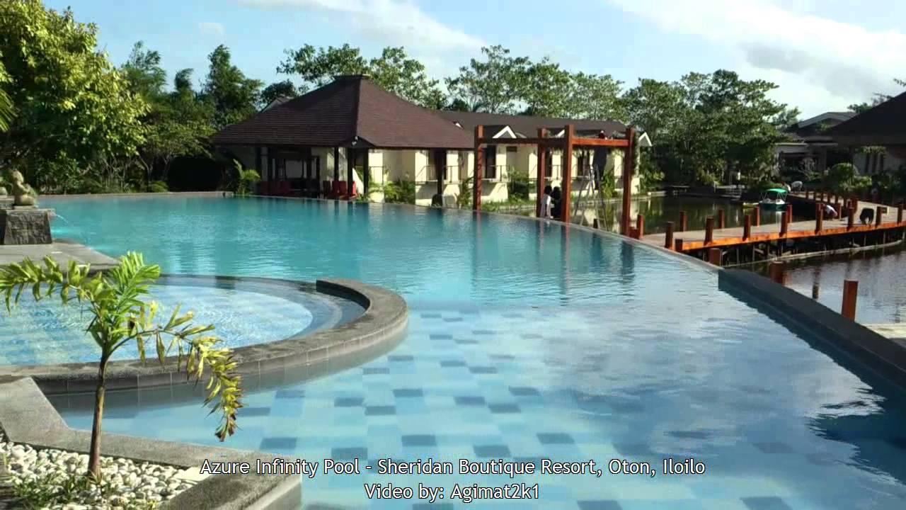 Azure Infinity Pool Sheridan Oton Iloilo Youtube