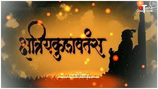 Bhagve Amche Rakt Amhi Shivrayanche Bhakt   Shiva Jayanti whatsapp status 2019 By Tushar Creation