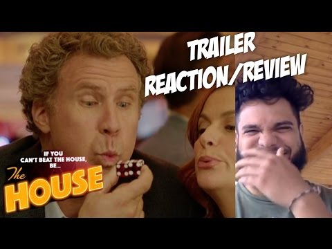 """""""THE HOUSE"""" Official Trailer Reaction/Review! Will Ferrell, Amy Poehler Comedy Movie"""