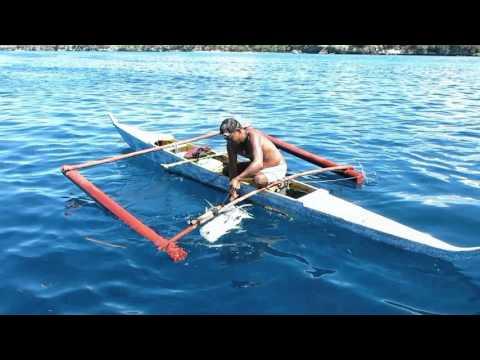Philippine underwater hunter. Филиппинский подводный охотник.