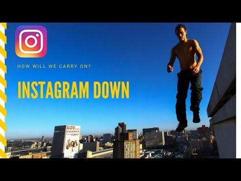 Instagram Down - Will The World END?