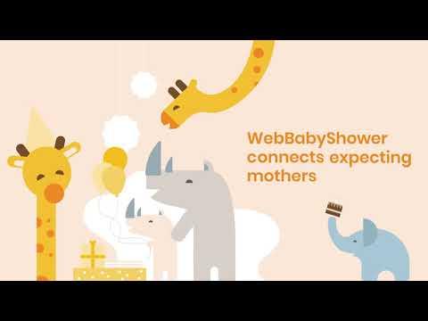 WebBabyShower - Online Baby Shower Service