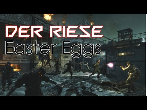 Black Ops Zombies | Der Riese Easter Eggs | Hide & Seek, Radios & Hidden Songs