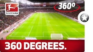 360 Degrees! Leverkusen vs. Wolfsburg from an Extraordinary Angle