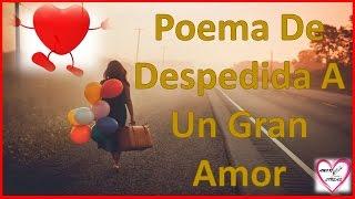 Poemas de despedida de amor