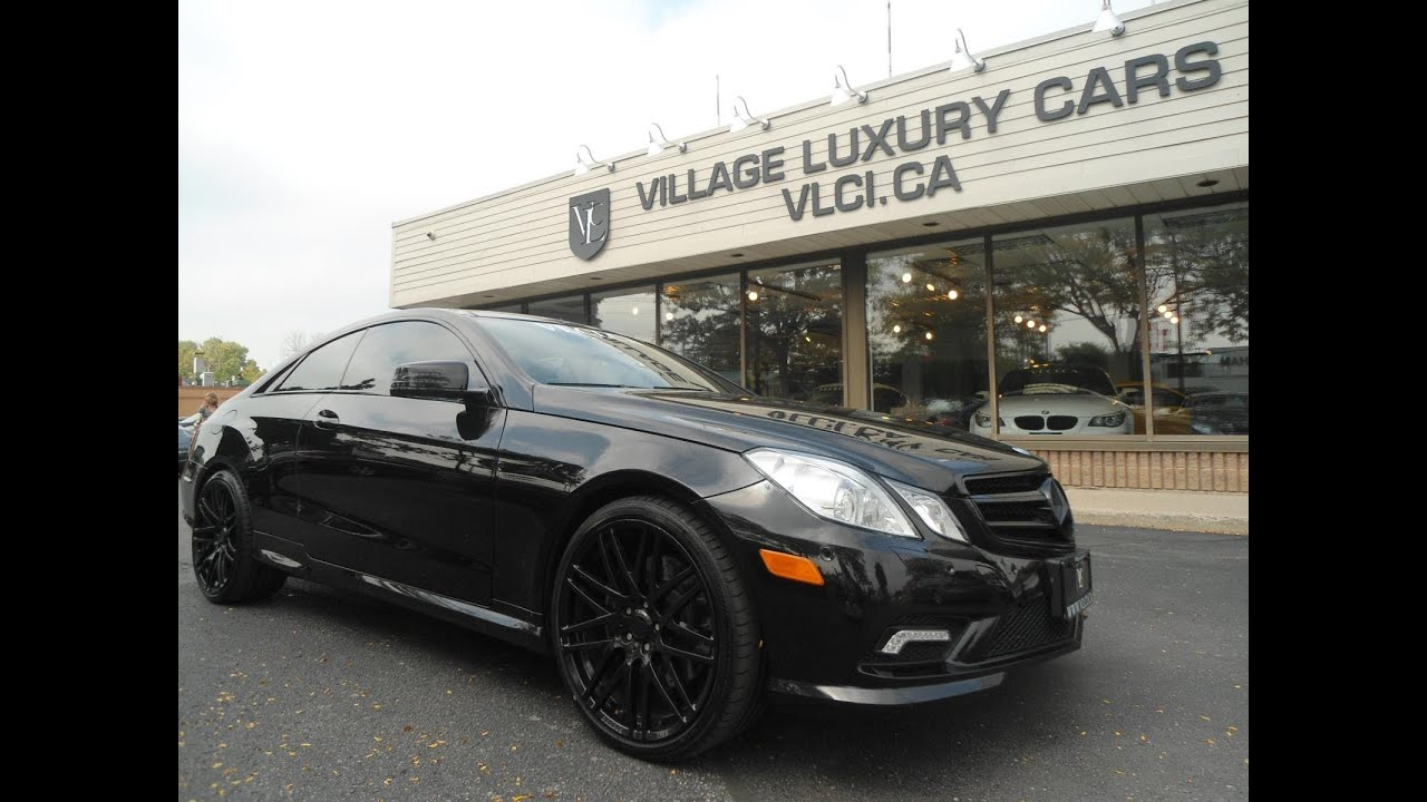 2017 Mercedes Benz E550 In Review Village Luxury Cars Toronto You