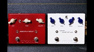 vOX Ice 9 and Satchurator - Joe Satriani Overdrive and Distortion Pedals