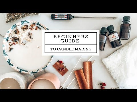 FULL & Easy Beginners Guide To Candle Making