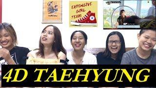 [BTS Fangirl Reaction] 4D Taehyung