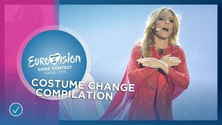 The ultimate costume change compilation of the Eurovision Song Contest 💃