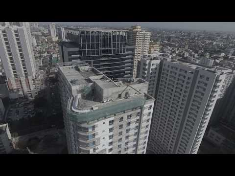 (Drone City Shot 3) Makati's Best Condo for only P13k/month. an AyalaLand Company