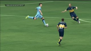 MANCHESTER CITY - BOCA JUNIORS - FIFA 15 DEMO - FULL HD GAMEPLAY 1080p [PS3]