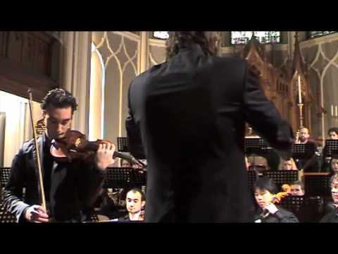 Artur Kaganovskiy- Prokofiev Violin Concerto No.2. Part 1a