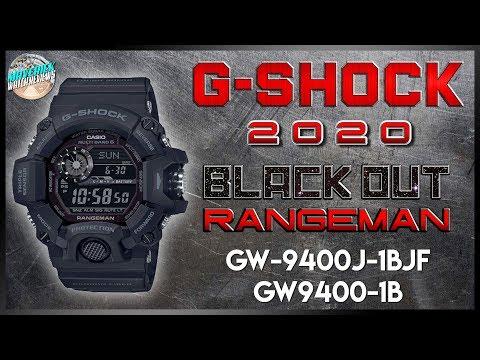 The Blackest Black! | G-Shock Rangeman Black Out 200m GW-9400J-1BJF | GW9400-1B Unbox & Review